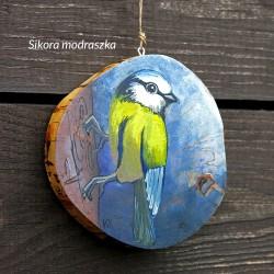 Sikora modraszka - dekor