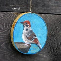 Wróbel - dekor