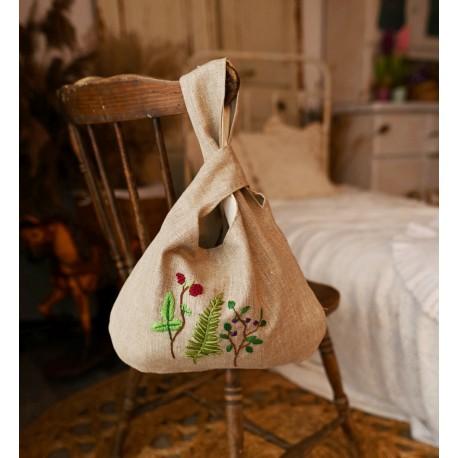 Torba knot bag - leśne zioła